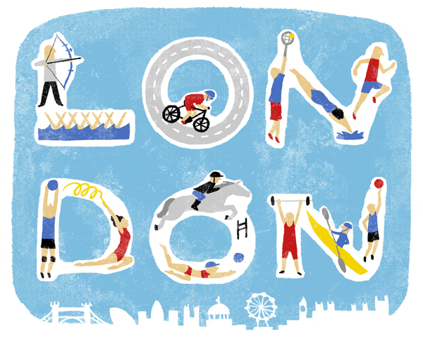 中時插圖 2012倫敦奧運