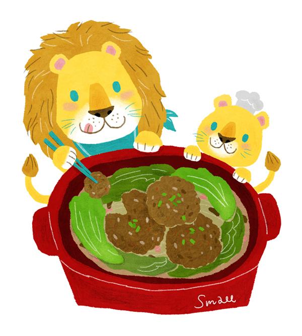 獅子愛吃獅子頭
