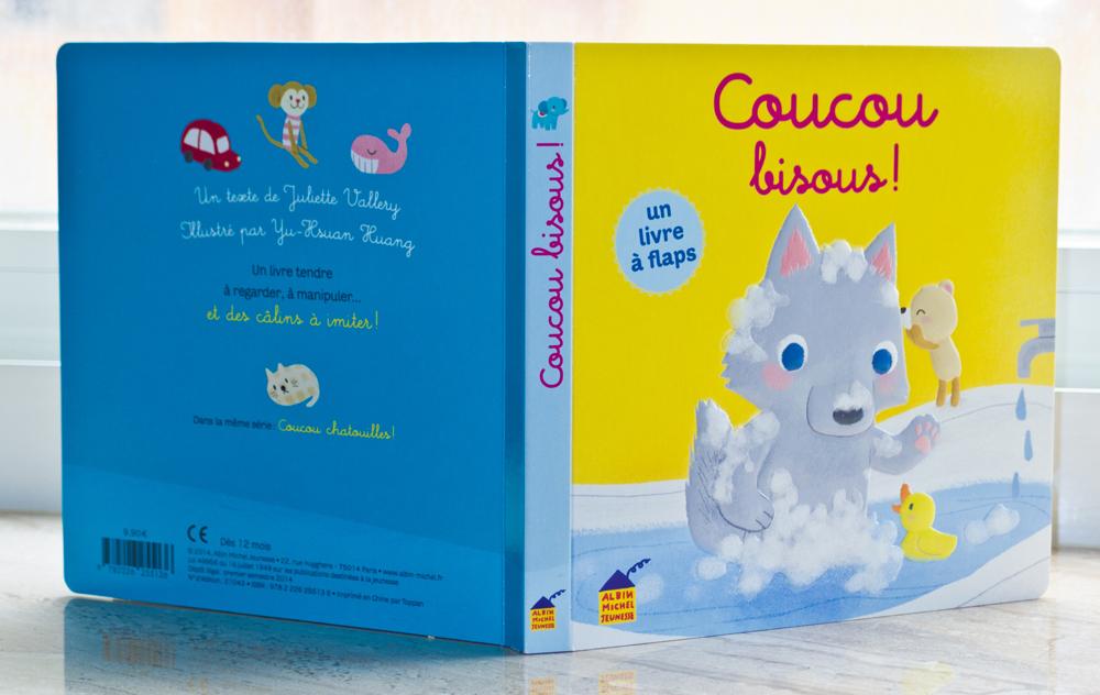 誰來親親 法文幼兒繪本 Coucou bisous