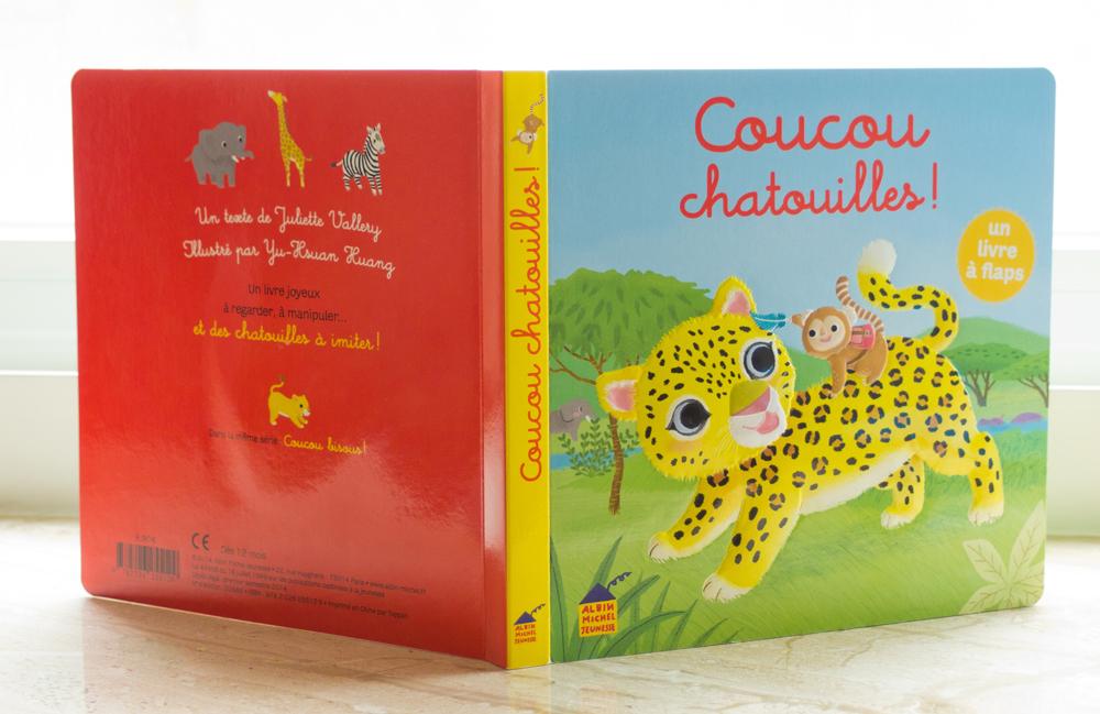 小猴搔癢央 法文幼兒繪本 Coucou chatouilles
