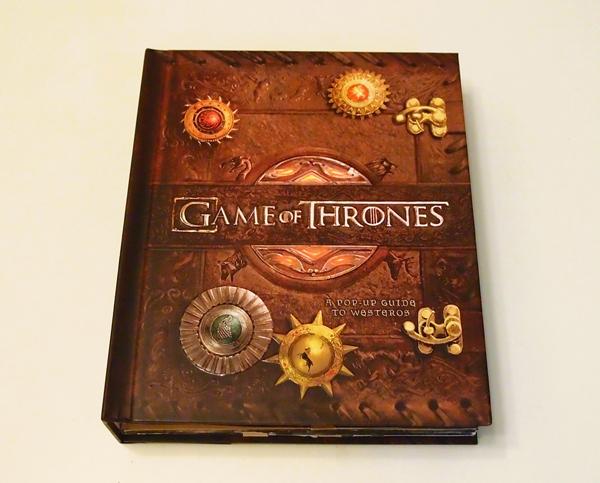 Game of Thrones Pop-Up 《冰與火之歌:權力遊戲》立體書