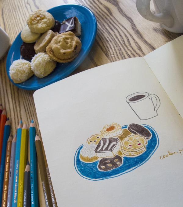 紐約DUMBO區 One Girl Cookies餅乾咖啡店