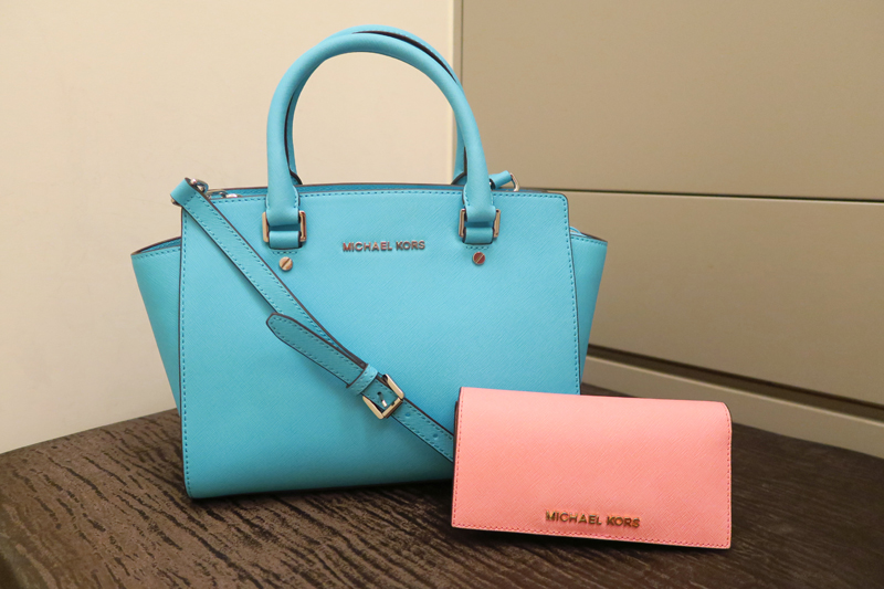 Michael Kors Selma medium Satchel 側背包