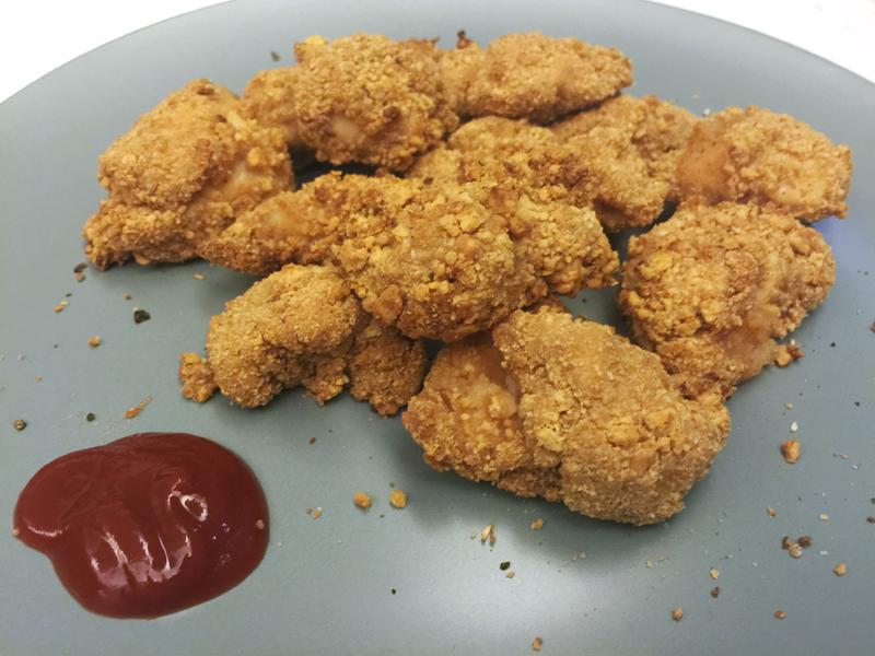 料理實驗室 免炸餅乾炸雞
