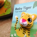 Baby Tiger  finger puppet book 老虎寶寶手指玩偶書