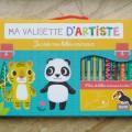 法文繪本  藝術行李箱:創造我的動物寶寶