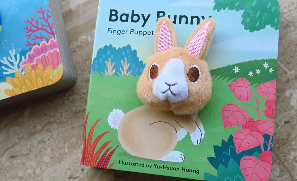 Baby Bunny finger puppet book 小兔寶寶手指玩偶書
