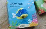 Baby fish finger puppet book 小魚寶寶手指玩偶書