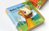 Baby giraffe finger puppet book 長頸鹿寶寶手指玩偶書